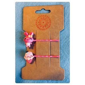 Kawaii Bunny Hair Pins Set